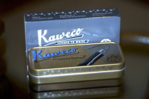 Kaweco AL Sport box with sleeve removed