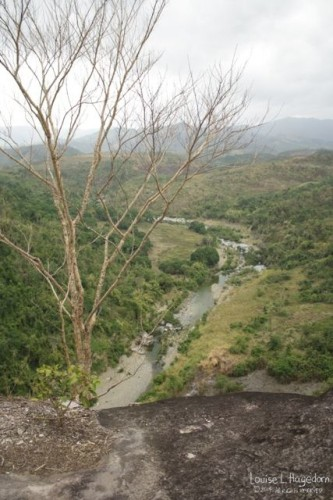 View of the river.